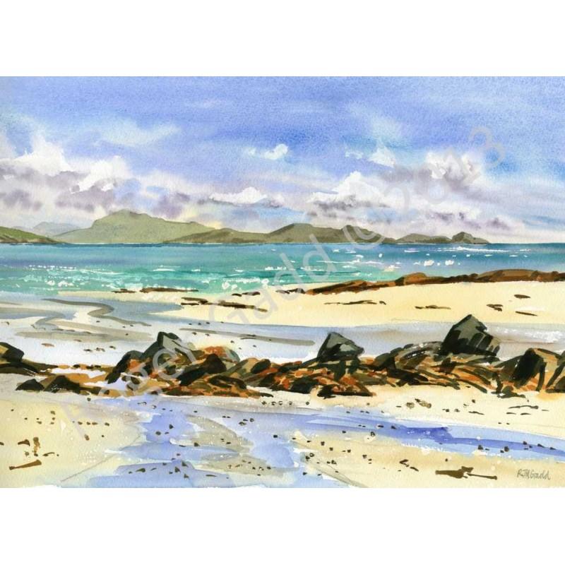 Breezy Day Triagh Mhor by Roger Gadd