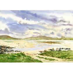 Valley Strand North Uist by Roger Gadd