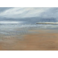 Stormy Skies Roker by Gill Gill