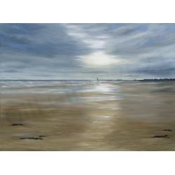 Quiet Walk Seaburn Beach by Gill Gill