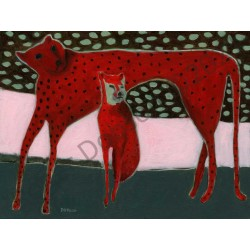 Red Cats by Roger Dobson