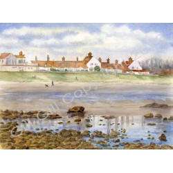 Whitburn Bents Cottages by Gill Gill