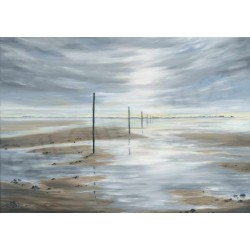 St. Cuthberts Way Lindisfarne by Gill Gill