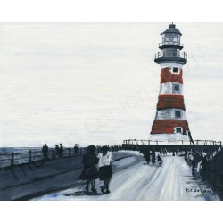 Roker Pier by Thomas Conlon
