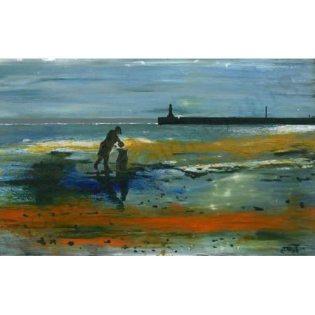Collecting Sea Coal by Thomas Conlon