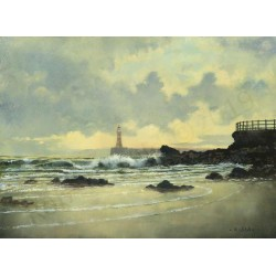 Incoming Tide Roker by Robert Wild