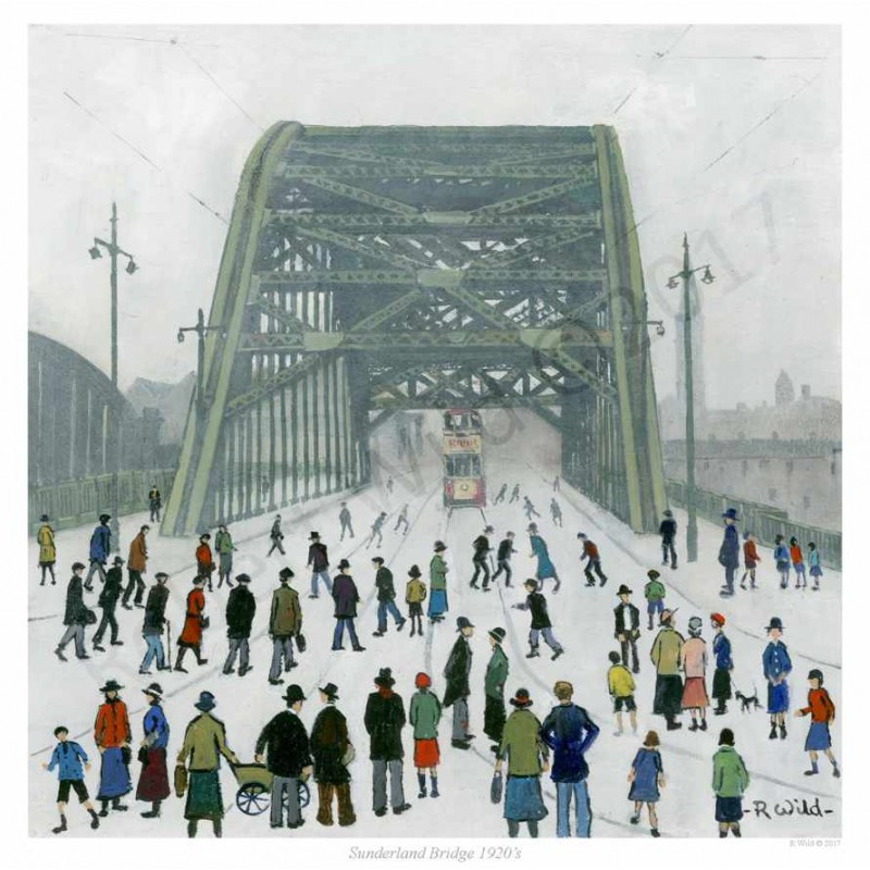 Sunderland Bridge  by Robert Wild