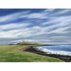 Dunstanburgh Castle by Gill Gill
