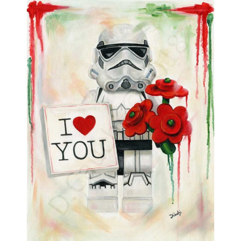 I Love You Stormtrooper by Deborah Cauchi