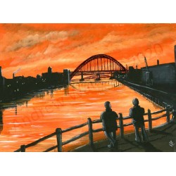 Momories of the Tyne  by Andrew Waller