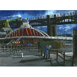 The Thinker Swing Bridge by Andrew Waller