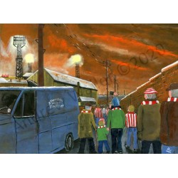 Boxing day antisipation 1973 Sunderland 3 Hull 1 by Andrew Waller