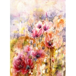 7 Poppies by Vivian Riches