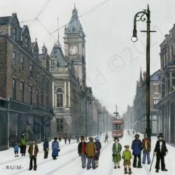 Fawcett Street Sunderland by Robert Wild