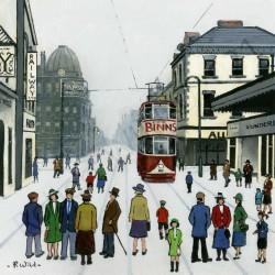 Binns Tram Sunderland by Robert Wild