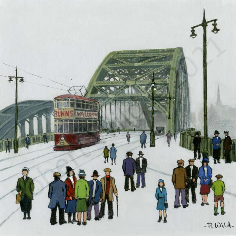 Wearmouth Bridge Sunderland by Robert Wild