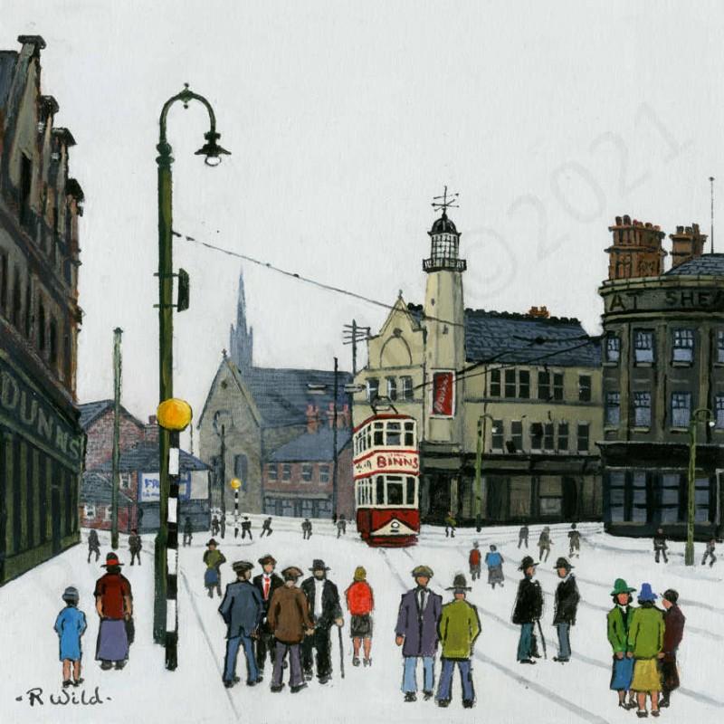 The Wheatsheaf Sunderland by Robert Wild