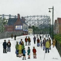 The Blue House Sunderland by Robert Wild
