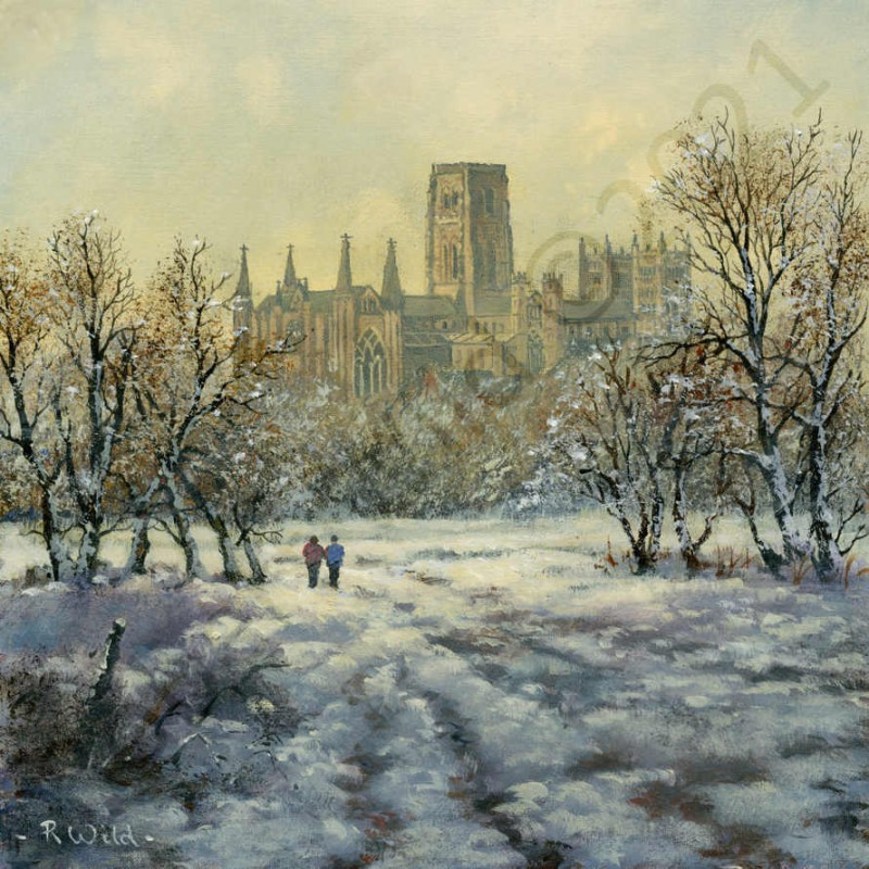 Durham Cathederal by Robert Wild