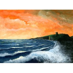 Dunstanburgh Sunrise by Andrew Waller