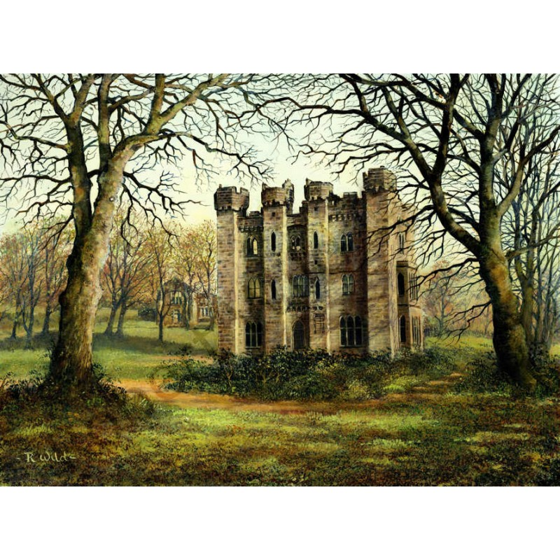 Hylton Castle by Robert Wild