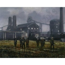 Wearmouth Pit by Robert Wild