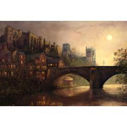 Durham by Moonlight by Robert Wild
