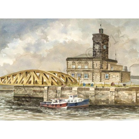 Gladstone Bridge by Ron Davidson