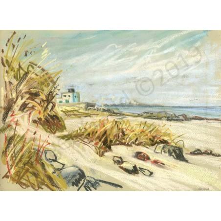 Bamburgh Beach by Roger Gadd